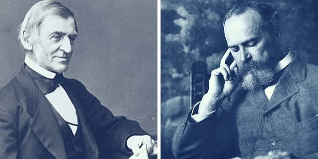 Ralph Waldo Emerson and William James