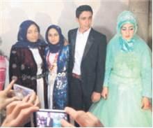 29 yaşındaki Ramazan iki hafta sonra teyzesinin kızı 21 yaşındaki Cemile Kürkçü ile Siverek'te dünya evine girecek.