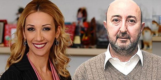 Gazeteciler Balçiçek İlter ve İsmet Berkan