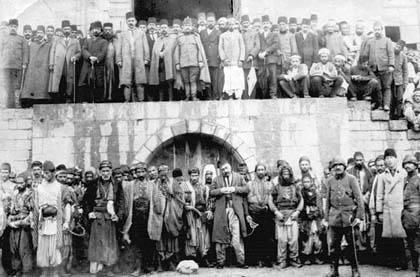 Zeytun'dan sürülen Ermeniler Maraş'ta 1915