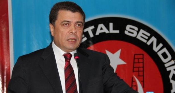 Türk Metal Sendikası Başkanı Pevrul Kavlak