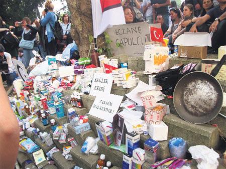 Gezi'deki paylaşım ekonomisi
