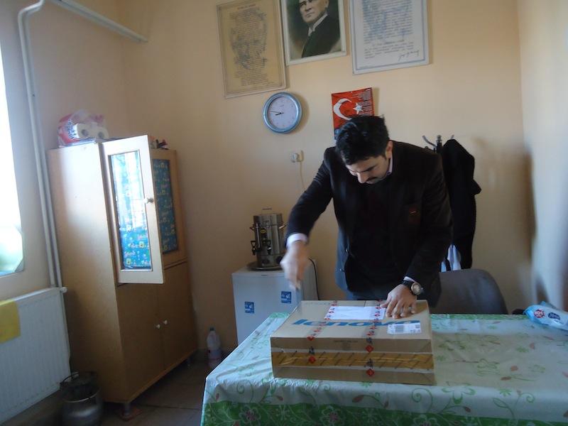 Verrr'den yararlanan Tokat'ta bir okul