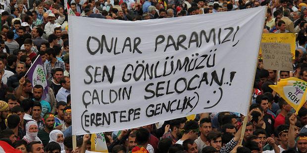 HDP Bitlis mitinginden... 1 Haziran 2015