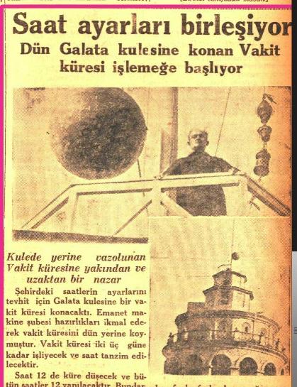 Cumhuriyet Gazetesi'nin 20 Mart 1930 tarihli haber kupürü