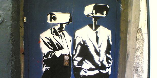 Sokak sanatçısı Banksy'nin çalışması