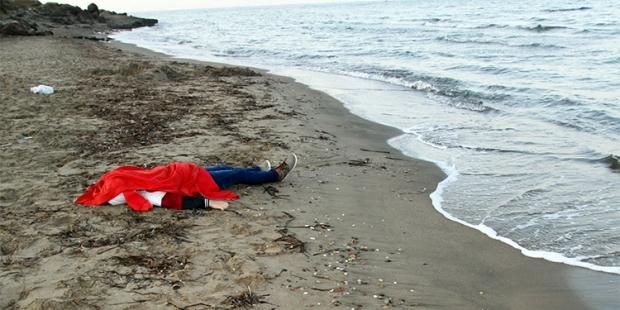 Bodrum'daki göçmen faciasında yaşamını yitiren Suriyeli Galip (Fotoğraf: DHA-Nilüfer Demir)