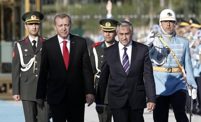 KKTC Cumhurbaşkanı Akıncı'nın Mayıs, 2015'teki Ankara ziyaretinden...
