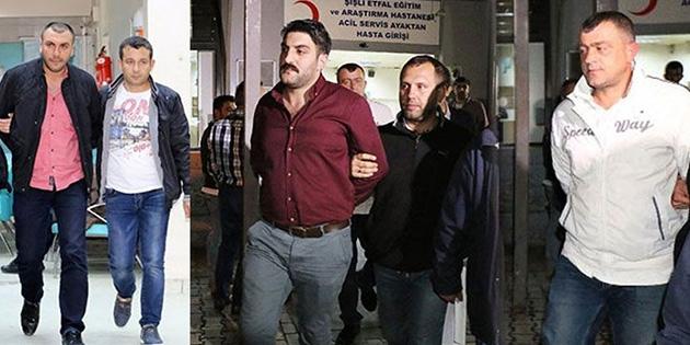 Takibe aldıkları Ahmet Hakan'a evinin önünde saldıran dört kişi