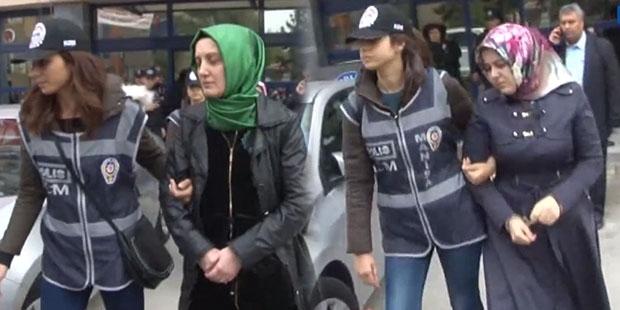 'Fethullahçı terör örgütü / Paralel devlet yapılanması' iddiasıyla yürütülen operasyonlarda dün başörtülü kadınların da aralarında bulunduğu 21 kişi gözaltına alındı