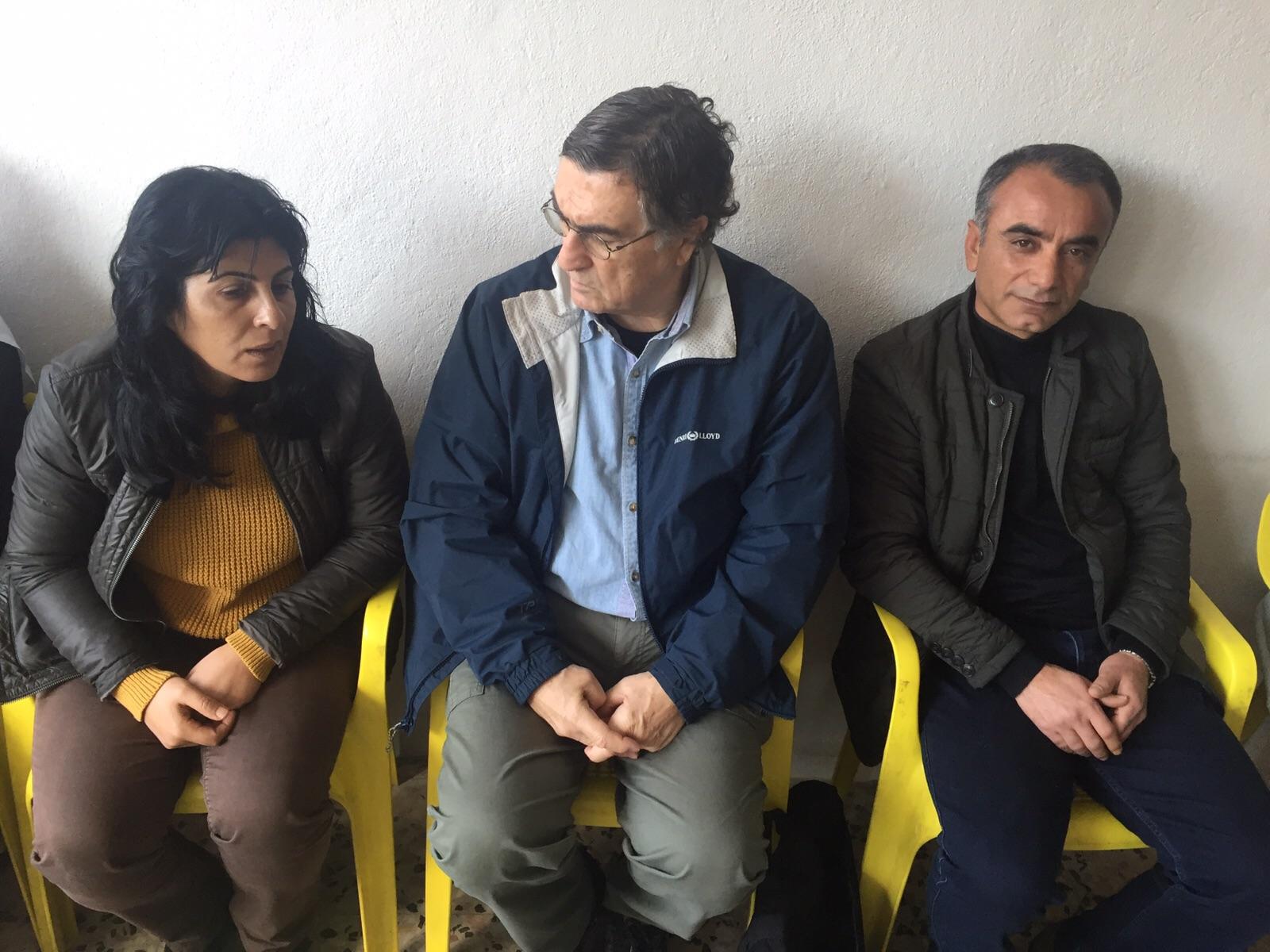 Nusaybin'in Sara Başkan'ı 'Bu savaşın en mağdurları çocuklar' derken Eş Başkan Cengiz Kök 'Bu koşullarda özyönetim uygulamak mümkün değil' diyor