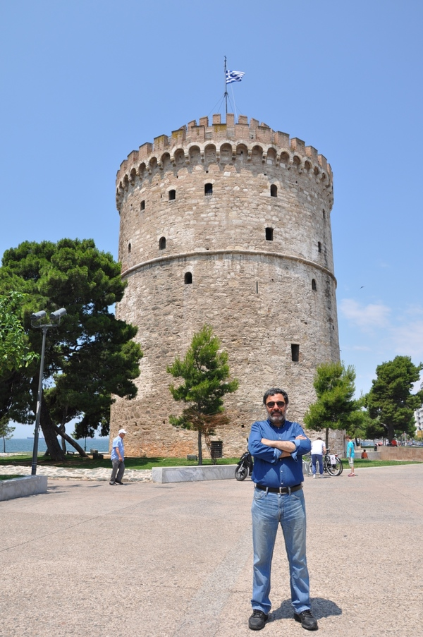 Selanik, Beyaz Kule (Ahmet Ümit arşivinden)