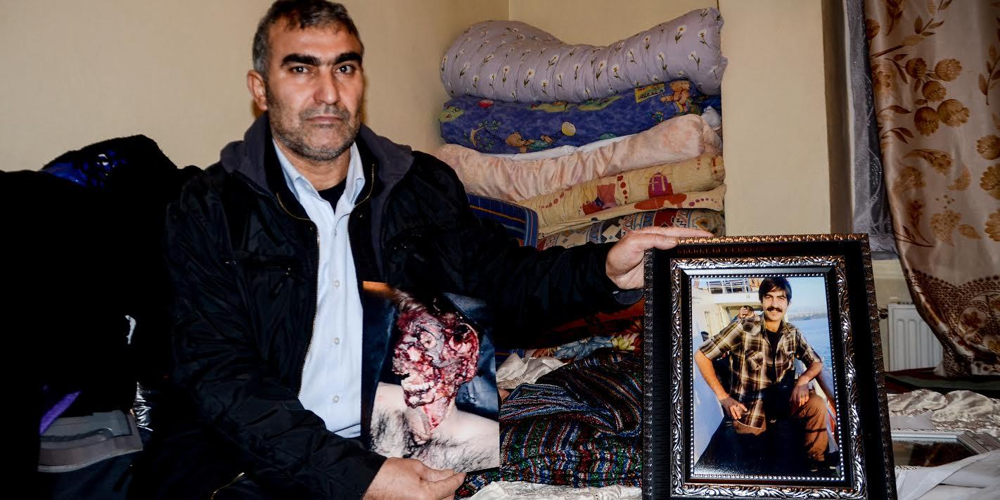 Mehmet Oran, 'Bütün dünya görsün istiyorum' diyerek yayımlanmasını istediği oğlunun fotoğrafıyla...