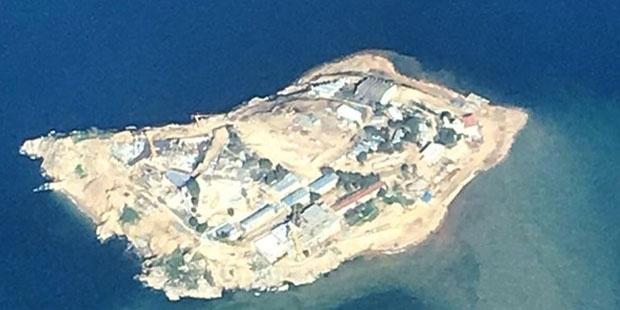 Adanın imara açıldıktan sonraki görüntüleri