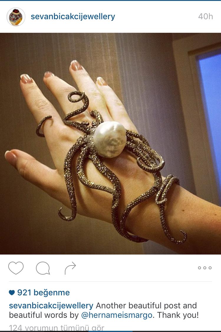 Secan Bıçakçı'nın resmi Instagram hesabından paylaştığı fotoğraf
