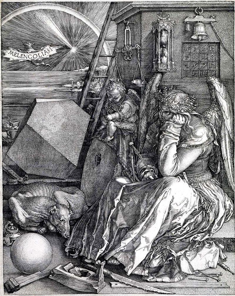 Melankoli I, Albrecht Dürer