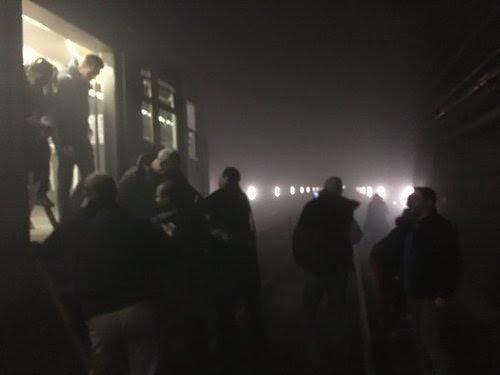 Saldırının ardından metro istasyonu böyle tahliye edildi