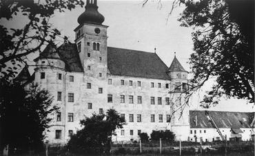 Fiziksel ve zihinsel rahatsızlıkları olan hastaların gaz verilerek ya da ölümcül iğne ile öldürüldüğü ötenazi merkezi Hartheim kalesi