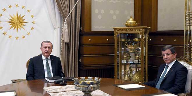 Cumhurbaşkanı Erdoğan, 4 Mayıs'ta Başbakan Davutoğlu'nu Beştepe'de kabul etti. Davutoğlu, ertesi günkü MKYK'nın ardından AKP'nin 22 Mayıs'ta kongreye gideceğini ve aday olmayacağını açıkladı