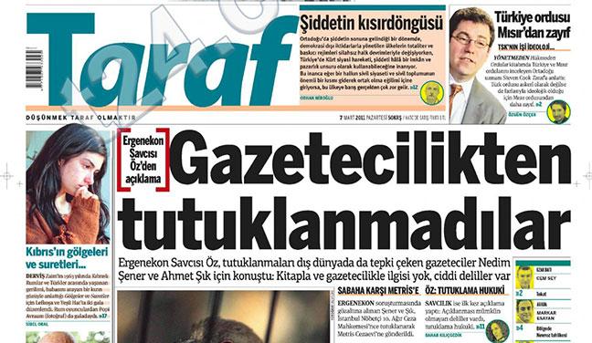 Ahmet Altan Nedim şener Ve Ahmet şık Tutuklandığında Taraf Ne