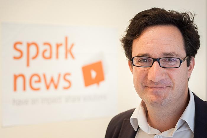 Christian de Boisredon, Sparknews kurucusu, Ashoka üyesi