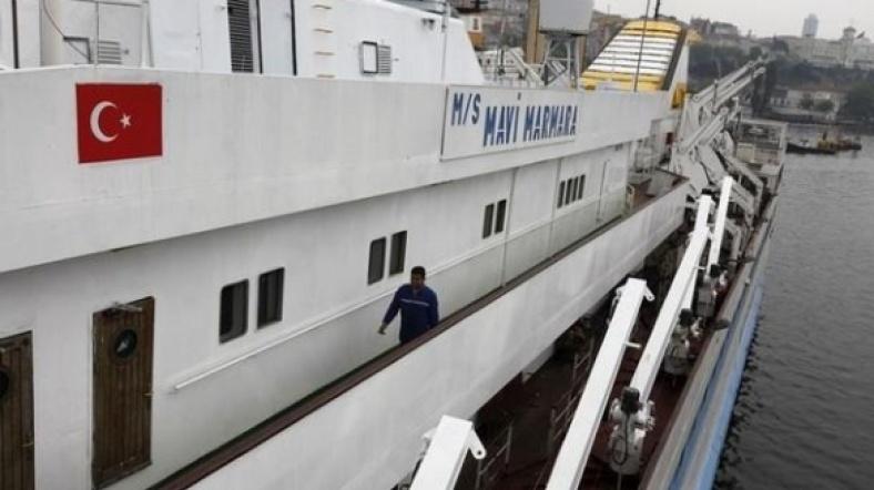 Mavi Marmara gemisi 2010 yılında uluslararası sularda İsrail askerlerinin saldırısına uğramıştı.