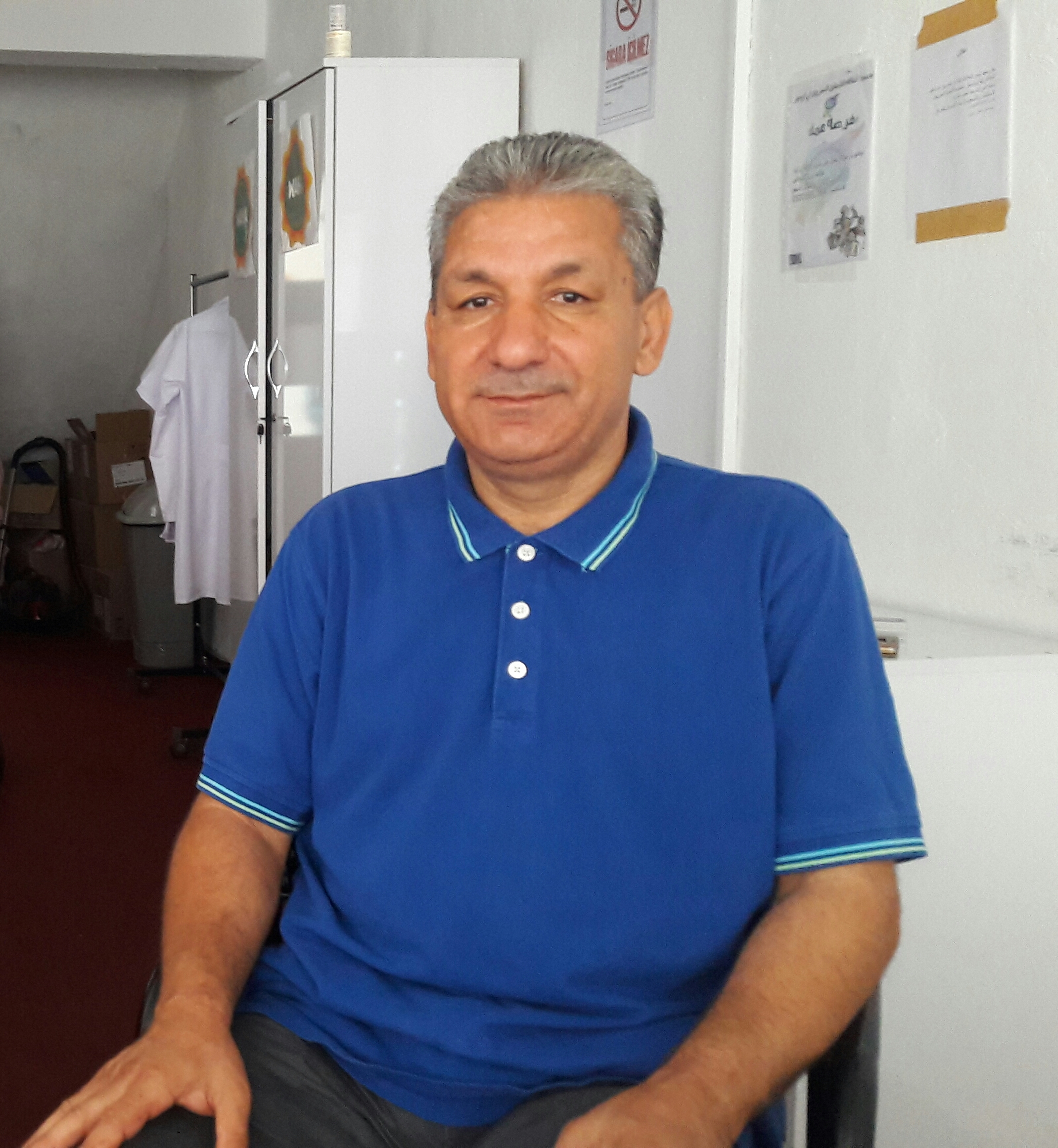 Suriyeli Şair Hael Helmi Srour