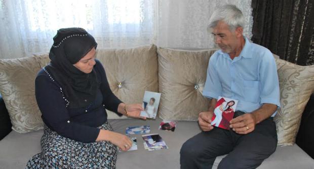 Hayatını kaybeden Maide Çetin'n anne ve babası
