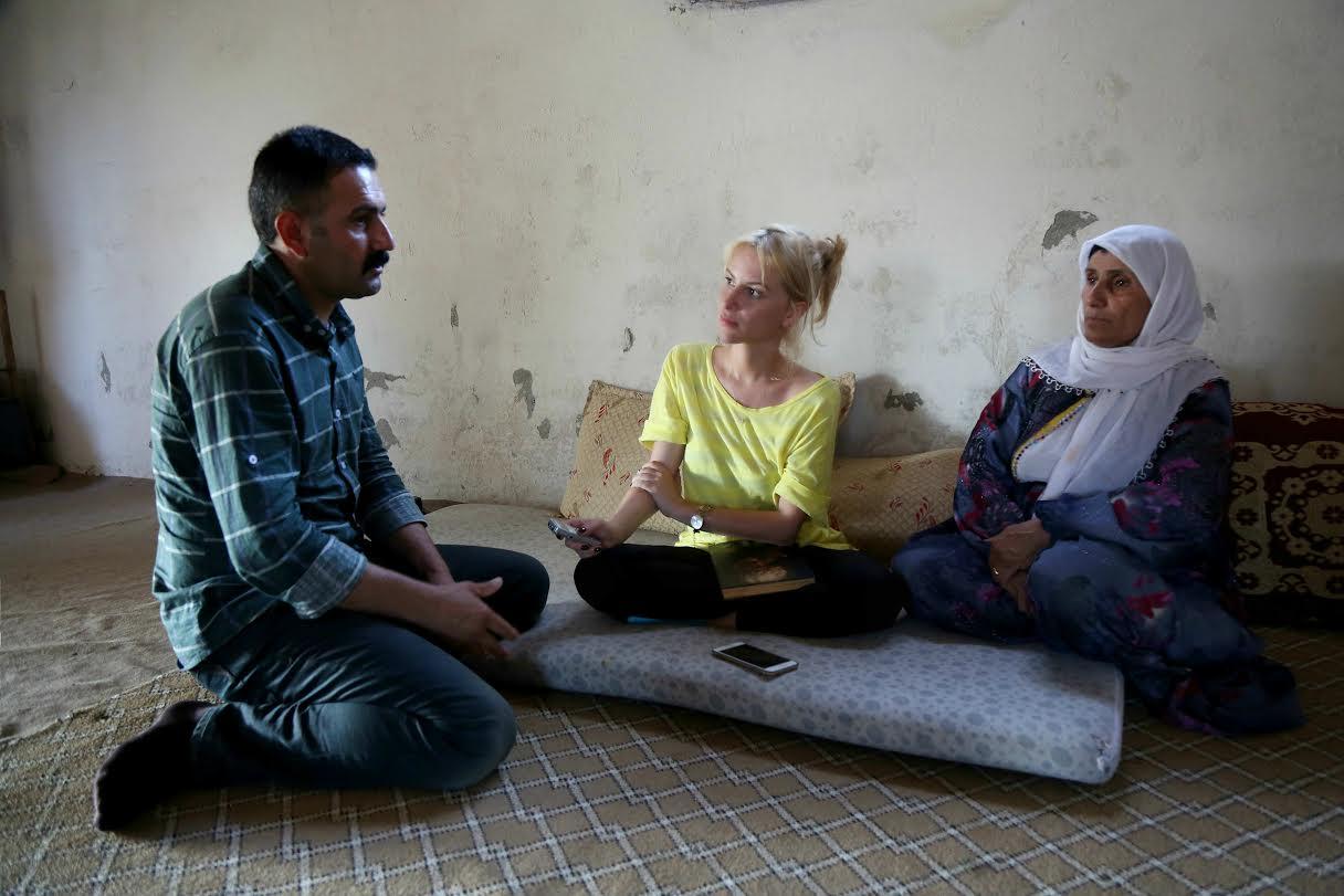 Hurşit Külter'in kardeşi Kamil Külter, Işıl Cinmen, anne Kerime Külter