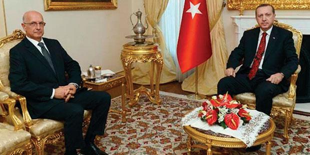 Acar, 2012'deki gerilimin ardından önce Erdoğan'la ardından Gül ile görüşmüştü