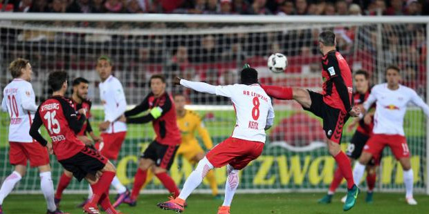 Bundesliga'da sürpriz lider RB Leipzig.