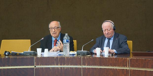 AİHM eski hâkimi, Sayın Rıza Türmen ve AİHM eski Başkanı, Jean Paul Costa