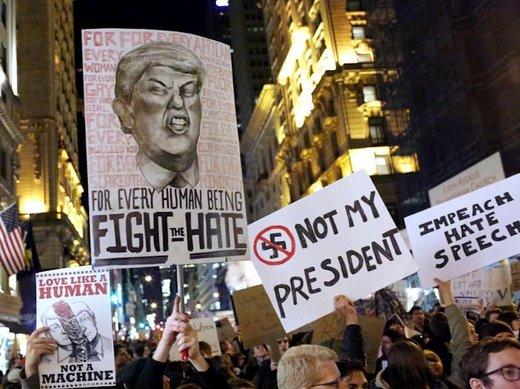 Donald Trump'ın 7 Müslüman ülkenin vatandaşlarına vize vermeme kararı, başta ABD olmak üzere dünya genelinde yüz binlerce kişi tarafından protesto ediliyor