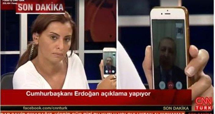 Fırat, Erdoğan'ın açıklamalarını FaceTime ile aktarmıştı