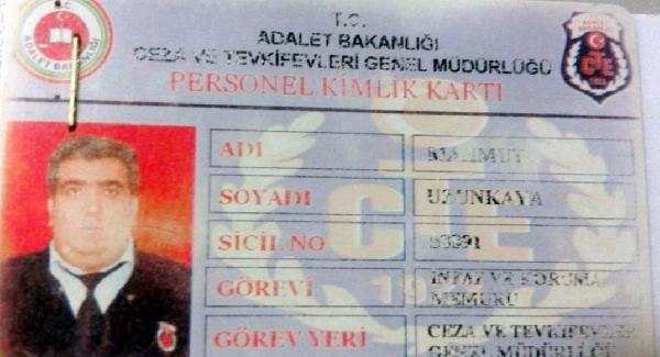 6 PKK'lının firar etmesinden sorumlu tutulan memur Mahmut Uzunkaya koğuşunda ölü bulundu