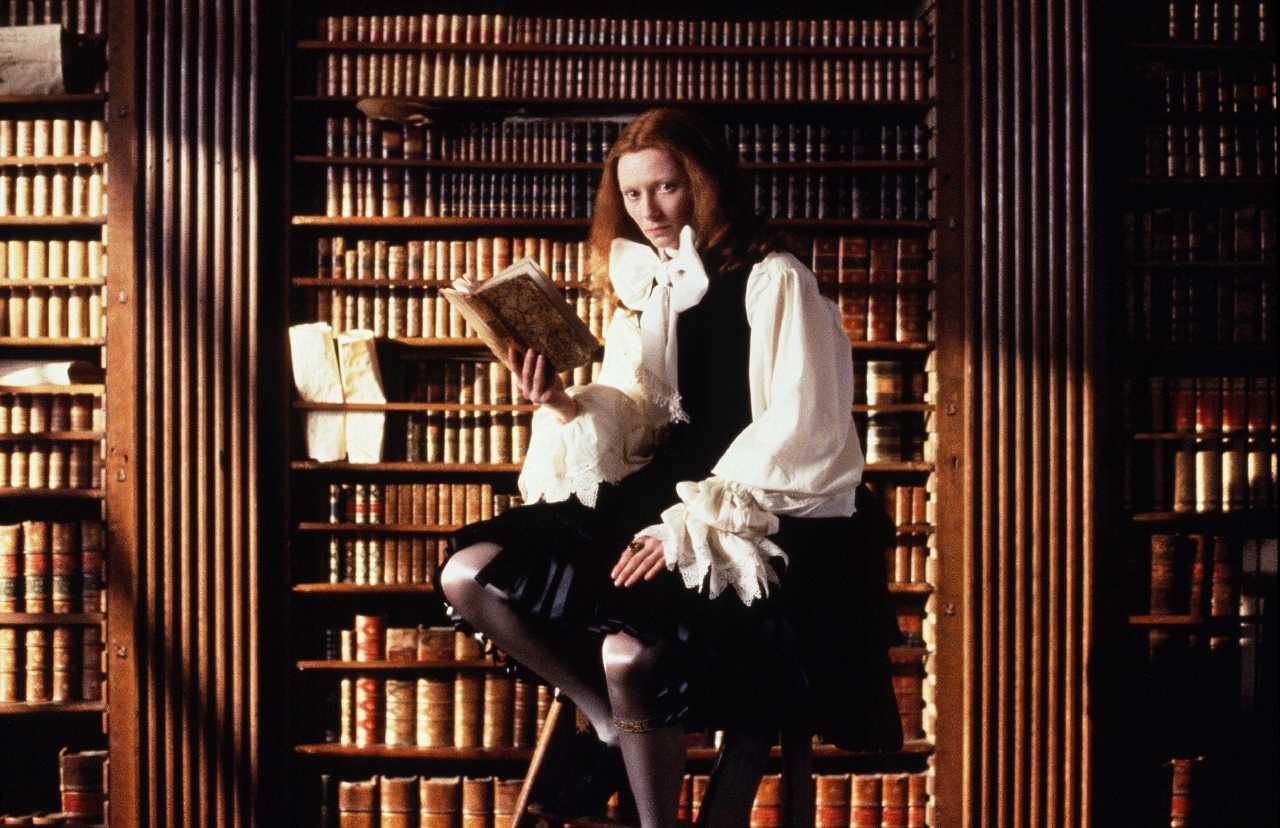 Orlando filminden Tilda Swinton, Yönetmen: Sally Potter, 1992