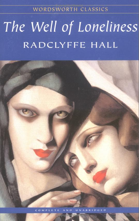 The Well of Loneliness, Radclyffe Hall, Wordsworth Classics