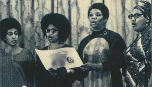 Audre Lorde, June Jordan, Alice Walker, Lucille Clifton