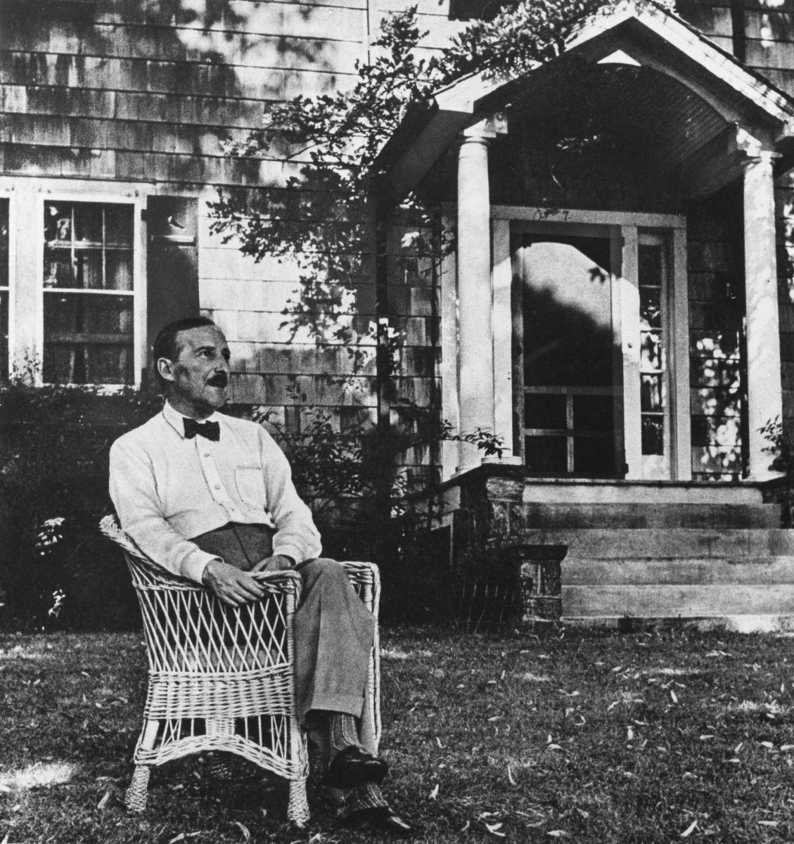Stefan Zweig, New York, ABD, 1941