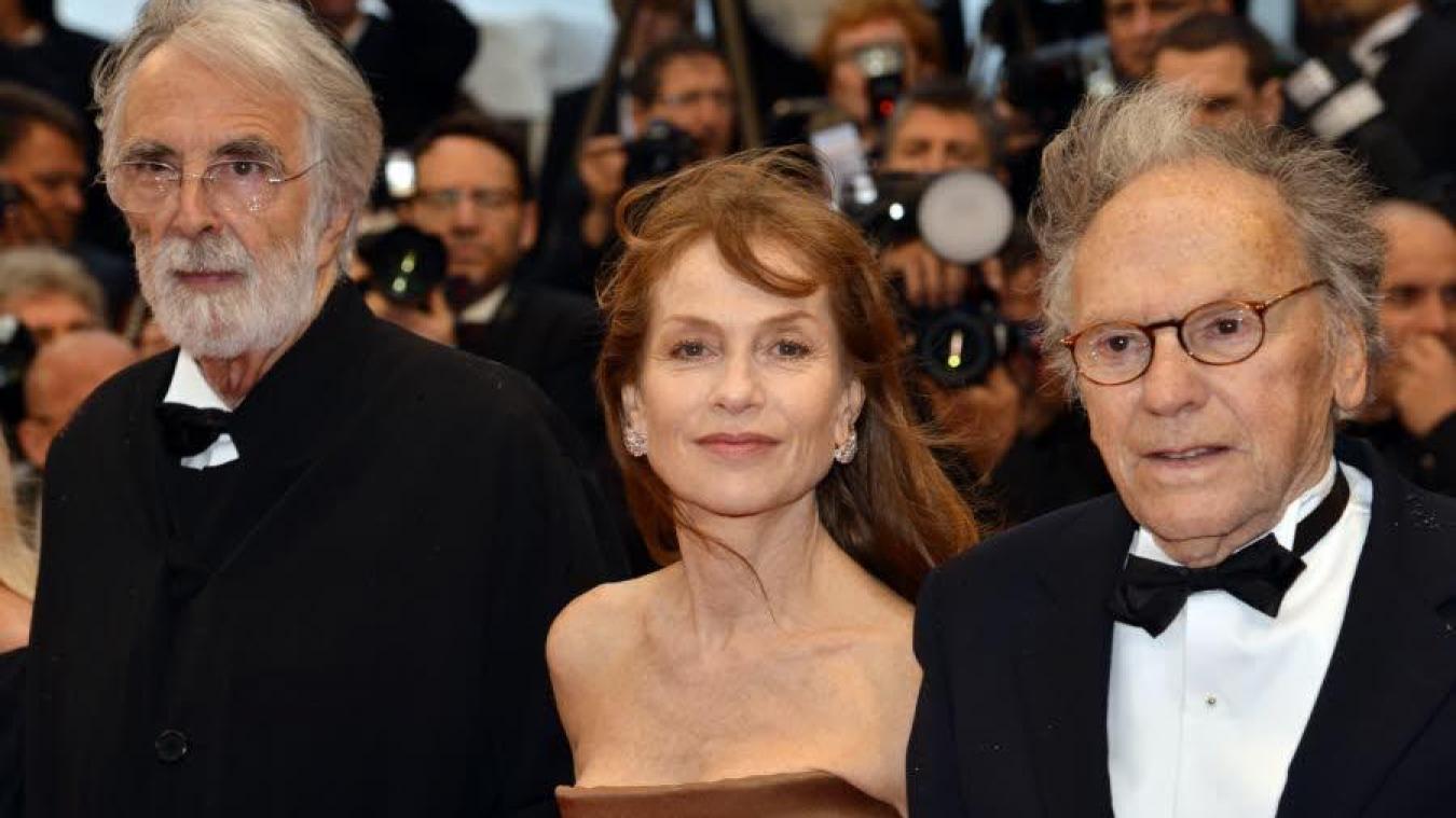 Happy End filmi için Michael Haneke Isabelle Huppert'le çalıştı