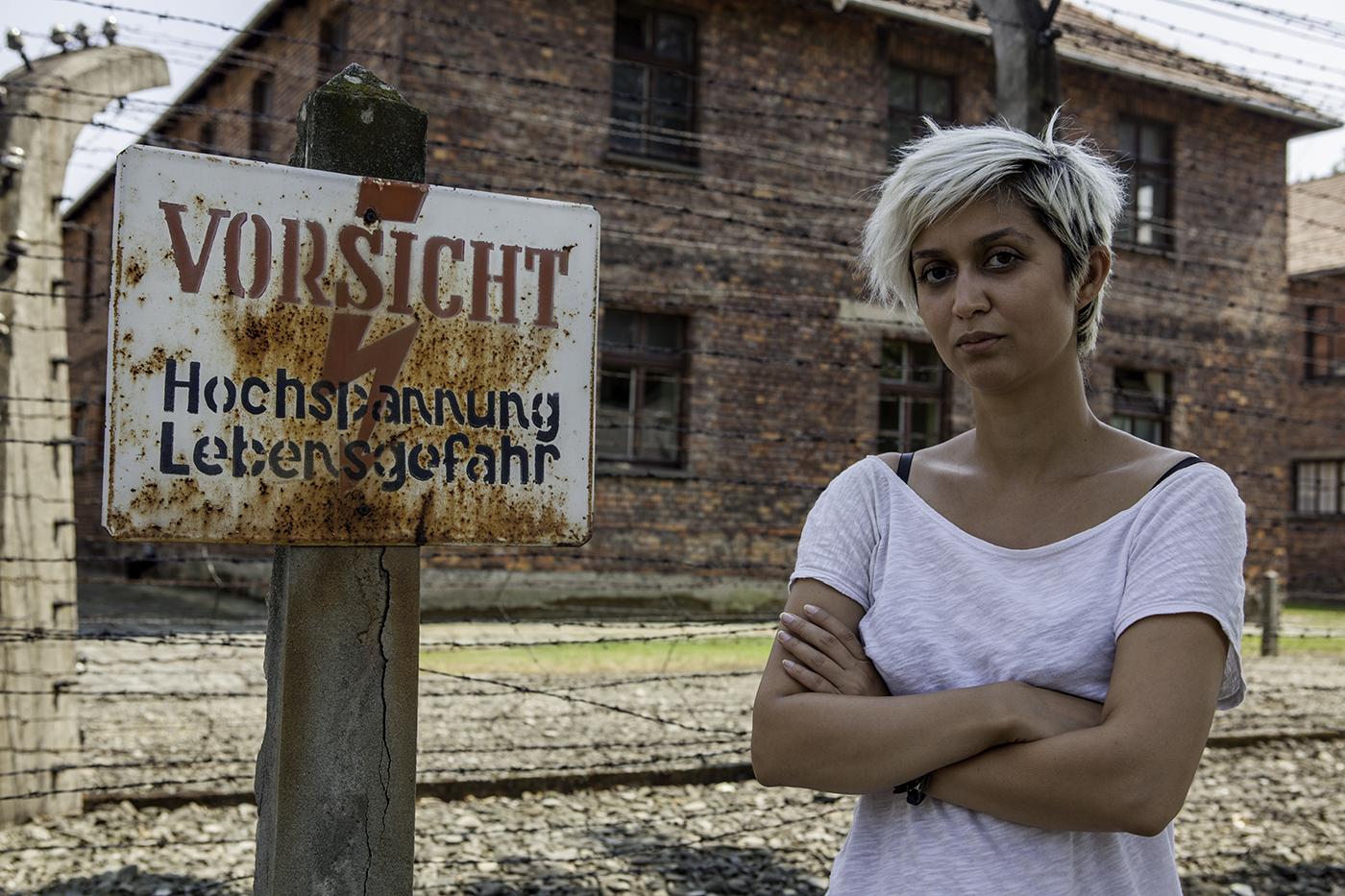 Nermin Yıldırım, Saklı Bahçeler Haritası için gittiği Auschwitz kampında