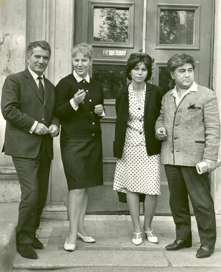 Ekber Babayev, Vera Tulyakova Hikmet, Meral Celen, Aziz Nesin