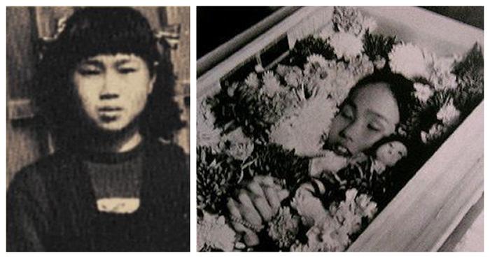 Sadako Sasaki ve bebeği Kokeshi