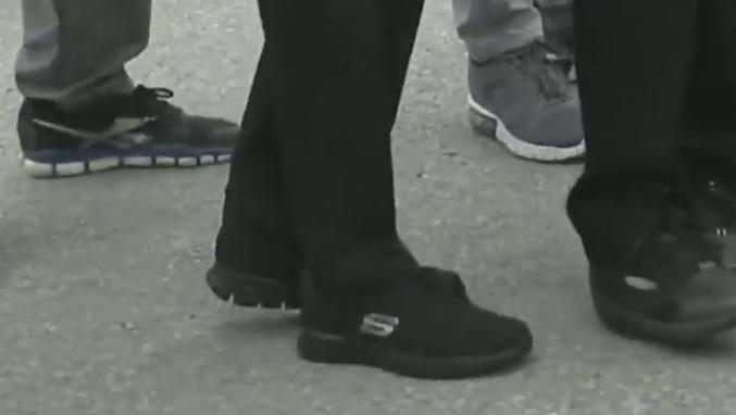 Kılıçdaroğlu'nun ayakkabıları dikkati çekti