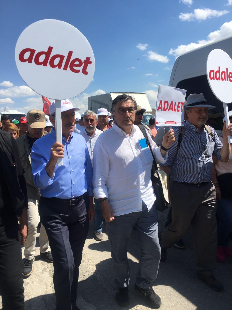 Hasan Cemal, Kemal Kılıçdaroğlu ile...