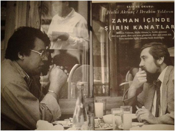 Hulki Aktunç ve İbrahim Yıldırım, 1992