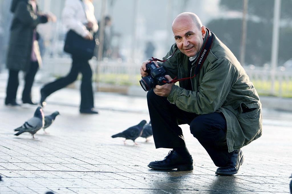 Ünlü Kulak-Burun-Boğaz uzmanı Mehmet Ömür, fotoğrafçılıkta da usta