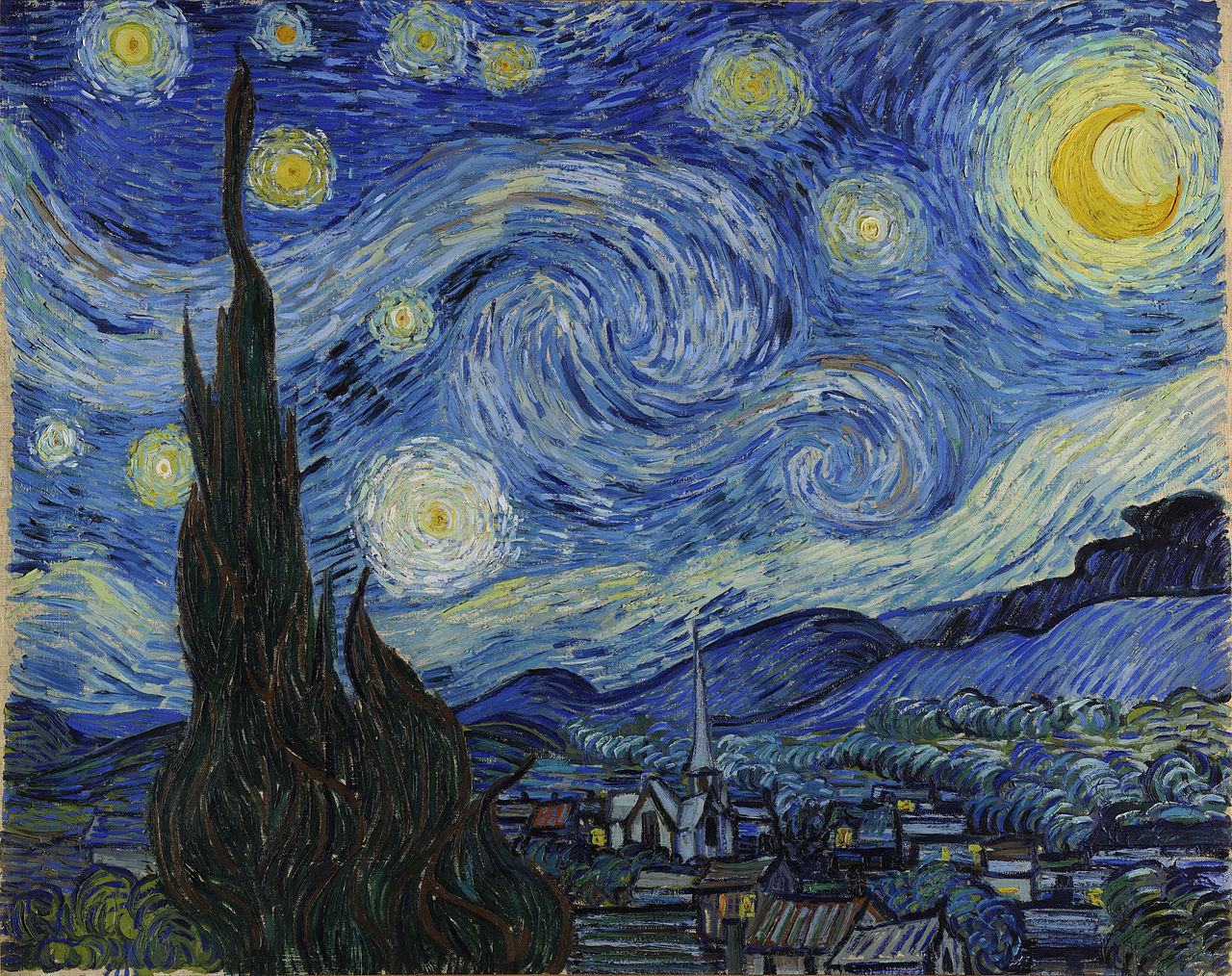 Yıldızlı Gece, Vincent Van Gogh