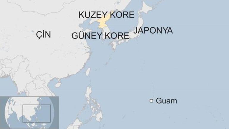 Kuzey Kore'nin vurmakla tehdit ettiği Guam Adası