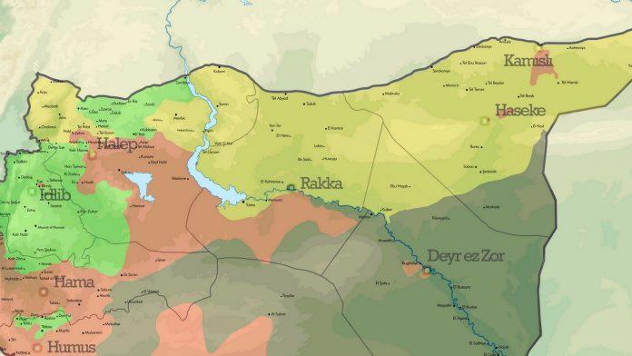 Suriye'de 12 Ağustos 2017 itibarıyla son durum